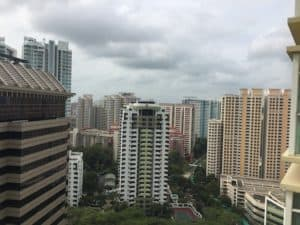 Landlord who engaged Property Agent from Propseller - Kai Chung's condo view at Meraprime condo