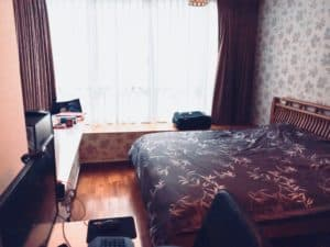 Loic K's bedroom in Kovan condo found with a top expat Property Agent from Propseller