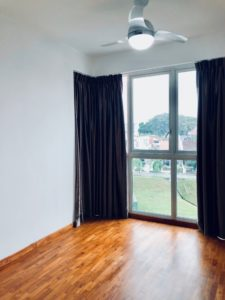 Singaporean Landlord Andrew C's living room view from HDB which was rented out by a top Property Agent from Propseller