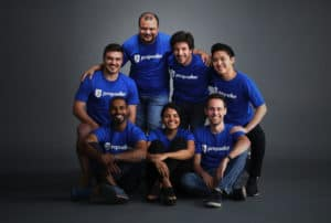 Propseller team members' picture