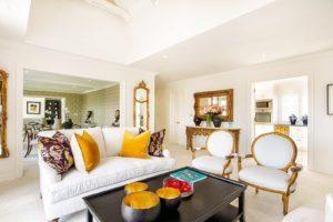 Elegant and contemporary interior