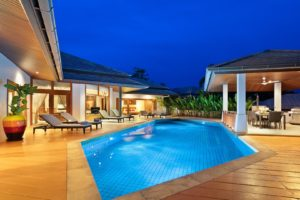 Gorgeous estate with central pool area
