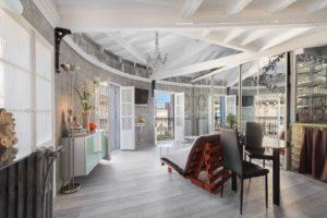 Contemporary and artsy interior